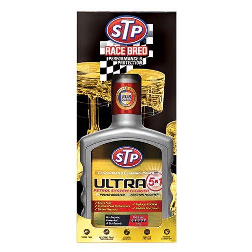 STP® Ultra 5-in-1 Petrol System Cleaner