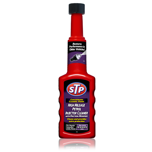 STP® High Mileage Petrol Injector Cleaner